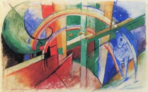 Franz Marc abstract